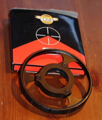 Nikko Stirling 100mm Parallax Sidewheel for Diamond LR models - NDSIWHEEL